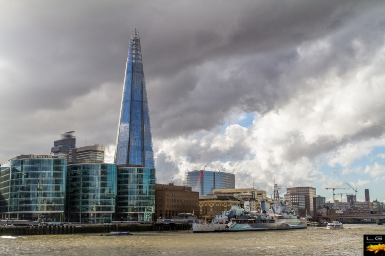 The Shard and HMS Belfast